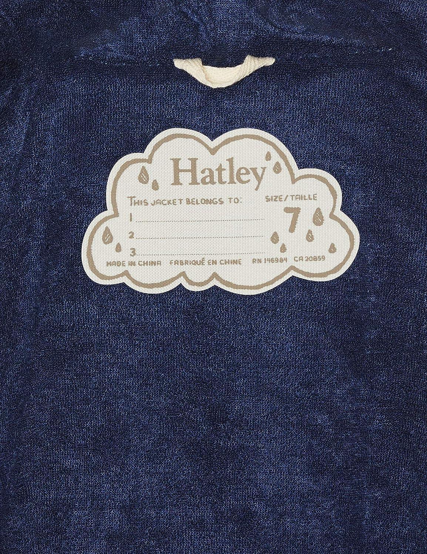 Hatley Boys Splash Jacket-Cinders Chubasquero para Ni/ños