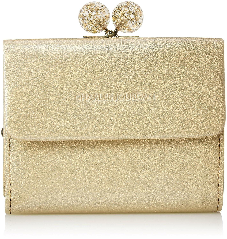 [シャルルジョルダン] がま口二つ折り財布 キャンディー