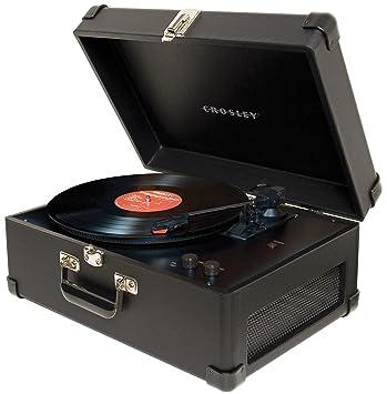 Amazon.com: Crosley cr249 BK Keepsake Tocadiscos USB (Negro ...