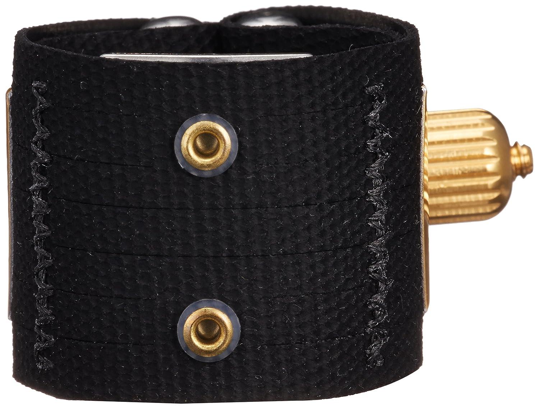 Rovner V1RLT Versa Ligature with Cap for Hard Rubber Slim Tenor Sax, Gold Fittings