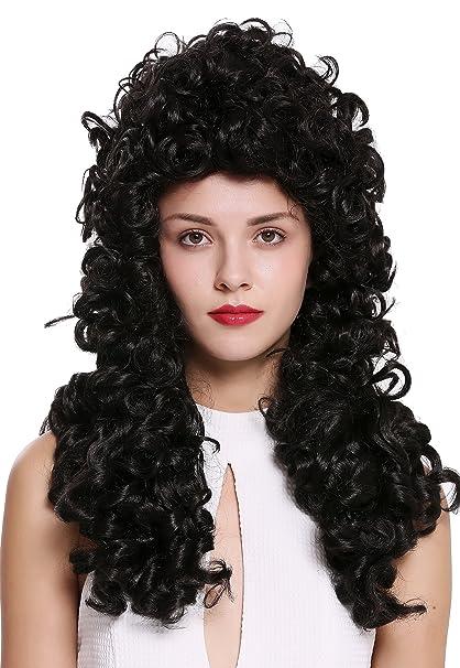 WIG ME UP ® - B17-2P-B-2 peluca de mujer hombre Barroco ...
