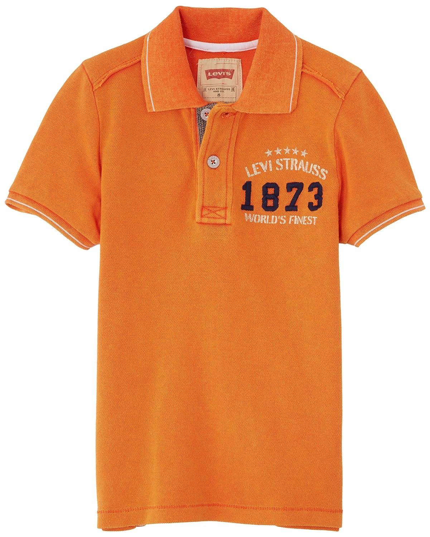 Levis Polo, Camiseta para Niños, Naranja (Clémentine) 10 años ...