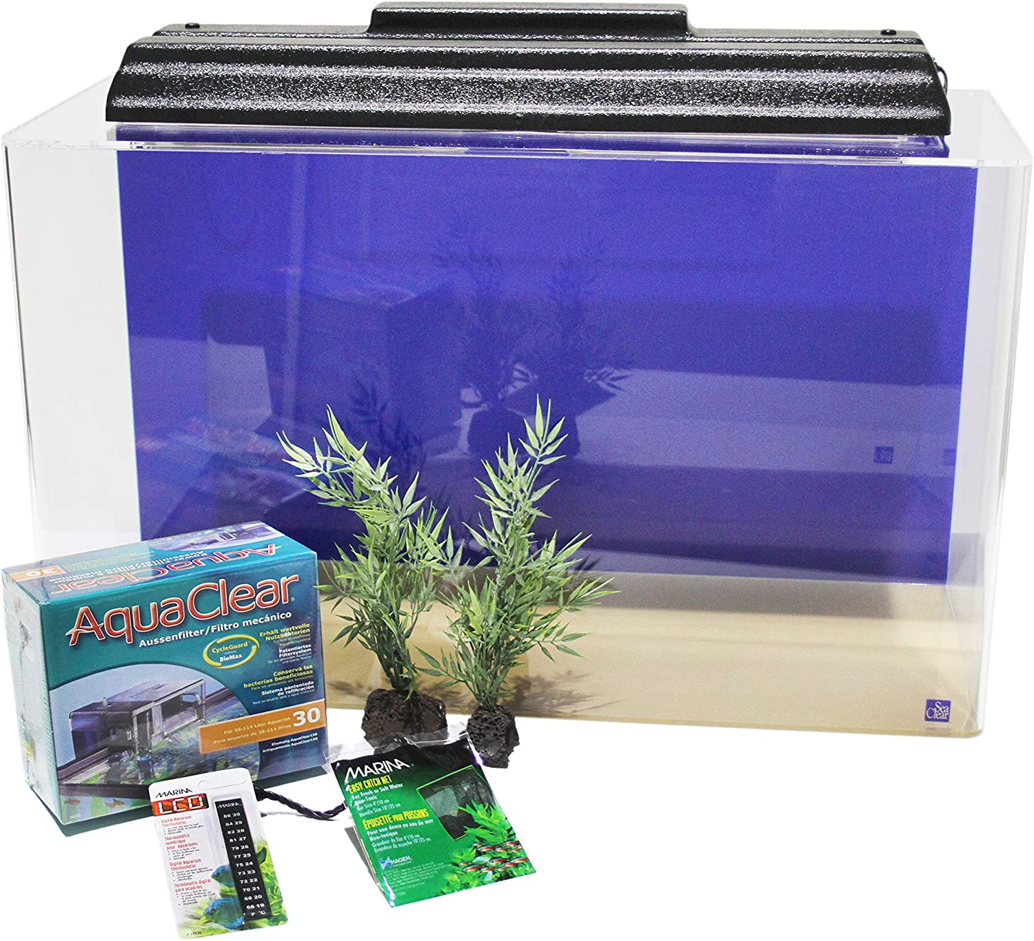 SeaClear Acrylic Aquarium Junior Executive Kit