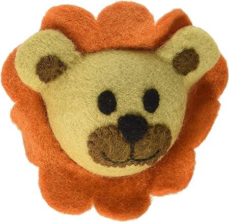 Amazon.com : RC Pet Toys Wooly Wonkz Safari Toy, 100% New Zealand Wool, Fun  Interactive Dog Toy, Lion : Pet Supplies