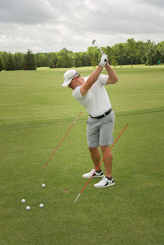 Amazon.com: Shaun Webb PGA, Golf alineación palos (2 ...