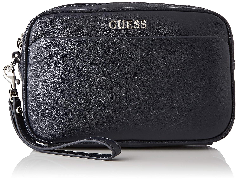 Guess L453 Bolso de piel para mujer, color negro: Amazon