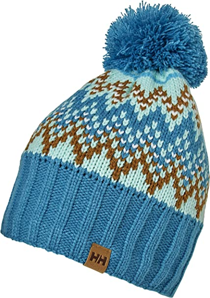 Helly Hansen Powder Beanie Gorro Sombrero de Invierno, Mujer, Blue ...