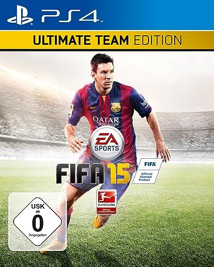 FIFA 15 - Ultimate Team Edition mit Steelbook (Exklusiv bei Amazon.de) - [PlayStation 4]