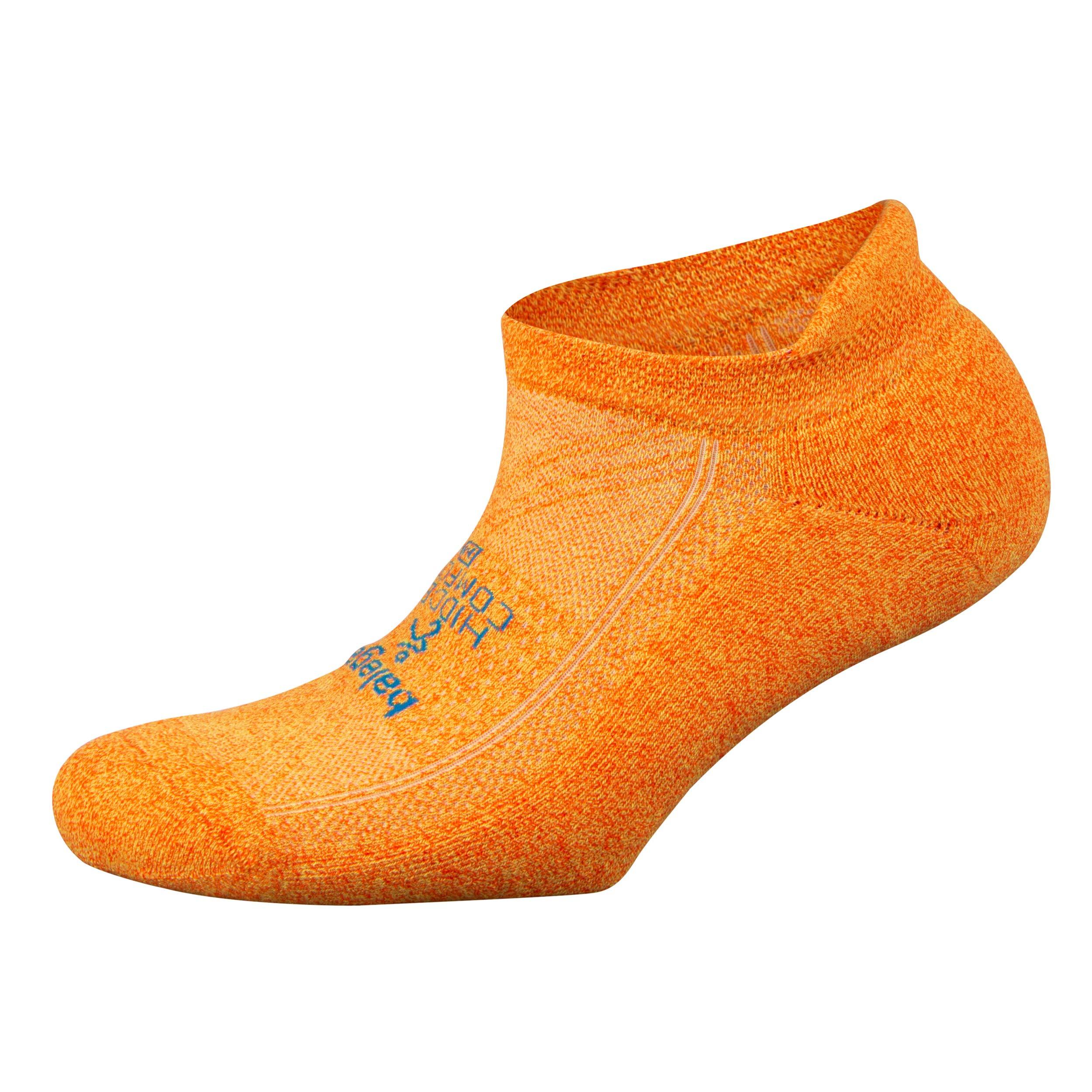 Balega Hidden Comfort No-Show Running Socks for Men and Women (1 Pair), Tangerine, Small by Balega