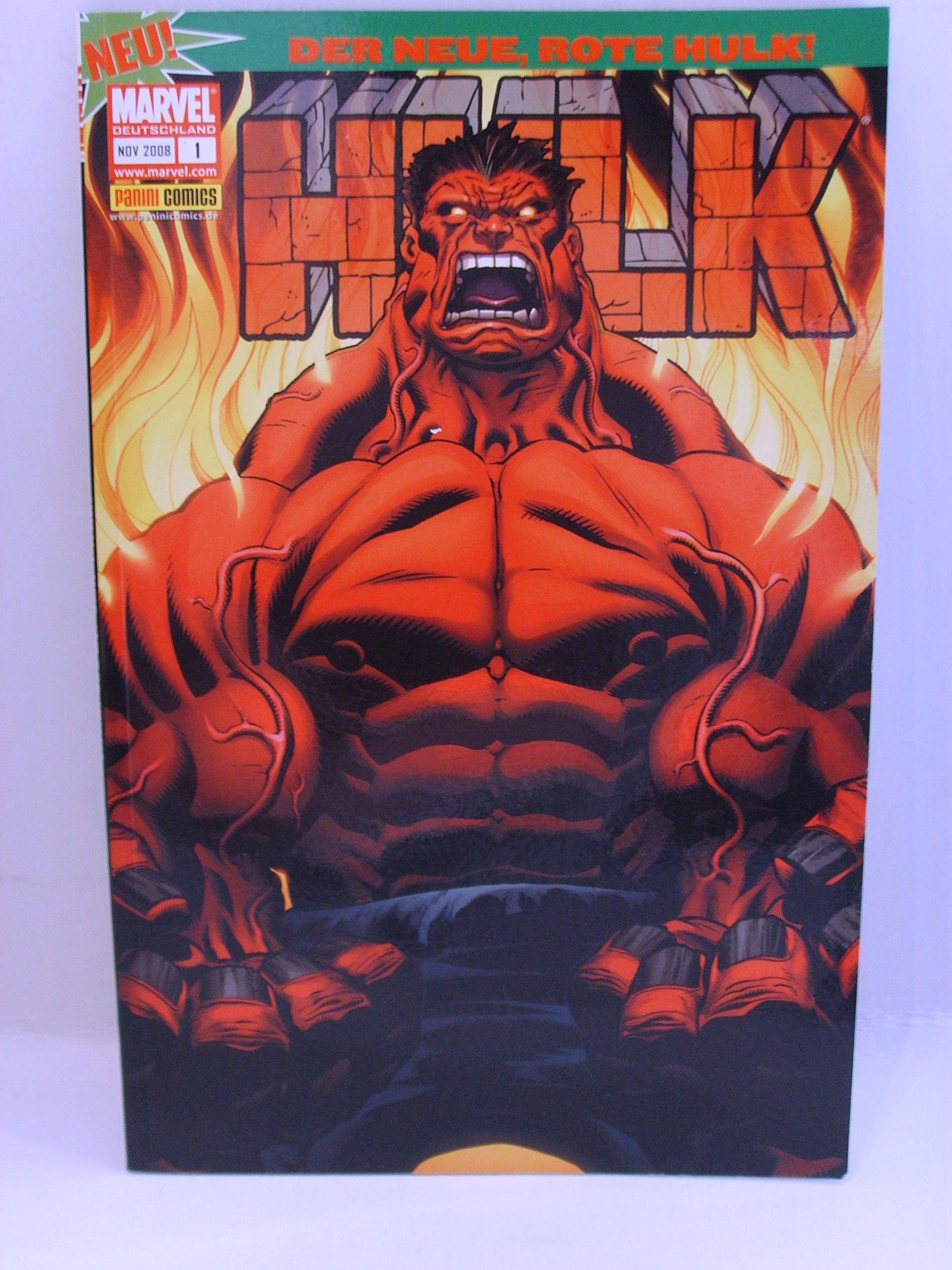 Hulk Sonderband #1 - Wer ist der Hulk? (2008, Panini) Comic – 2008 E. McGuinness J. Loeb Panini Verlag B00652E8LE Belletristik - Comic
