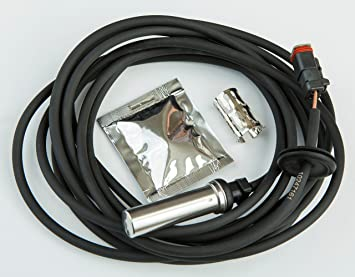 Izquierda ABS Sensor de velocidad de la rueda 7420509869: Amazon.es: Coche y moto