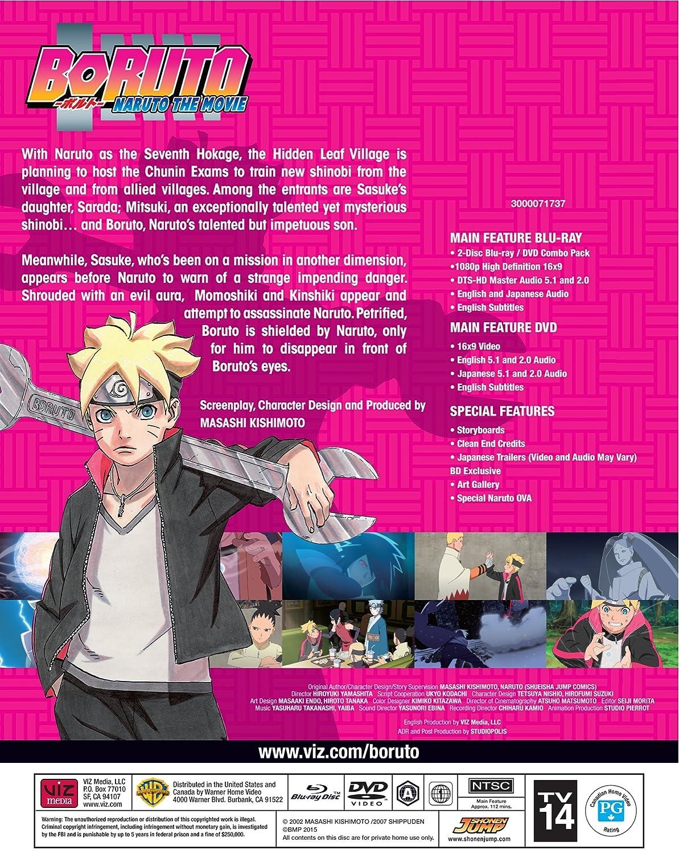 Boruto - Naruto The Movie Edizione: Stati Uniti Italia Blu ...