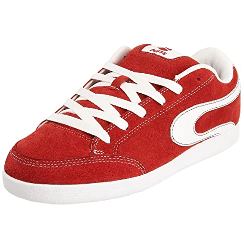 825131f367 DuFFS Men s The G4 Red White Trainer D094 7 UK  Amazon.co.uk  Shoes ...
