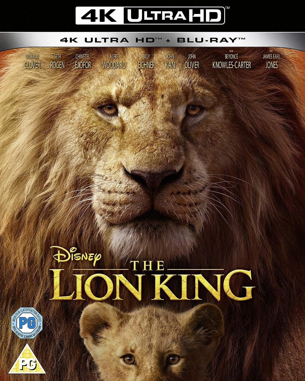 Disneys The Lion King 4k Uhd 2019 Blu Ray Region Free