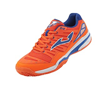 Zapatilla Joma Padel Slam Clay Orange Fluor Navy Talla 44 EUR: Amazon.es: Deportes y aire libre
