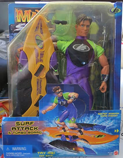 Max Steel Surf Attack & Turbo Board