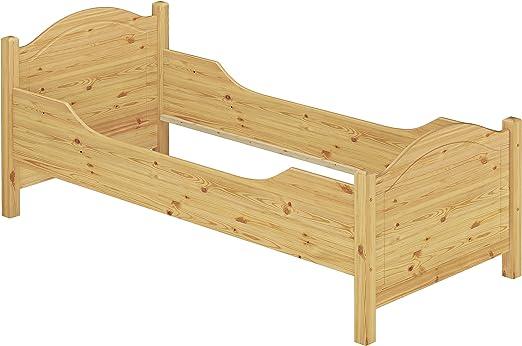 Erst Holz 60 40 09 Or Seniorenbett Extra Hoch Bettgestell 90x200 Massivholz Natur Amazon De Kuche Haushalt