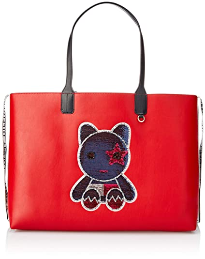 fb5b7c01 TOMMY HILFIGER Iconic Tommy Tote Mascot: Amazon.co.uk: Shoes & Bags