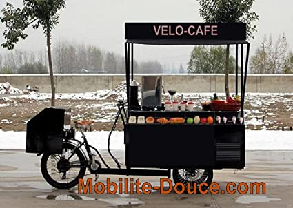 mobilite-douce. com velo-cafe2750 bar-snack sobre triciclo eléctrico suspendida, todo Clubs (grifo, ...