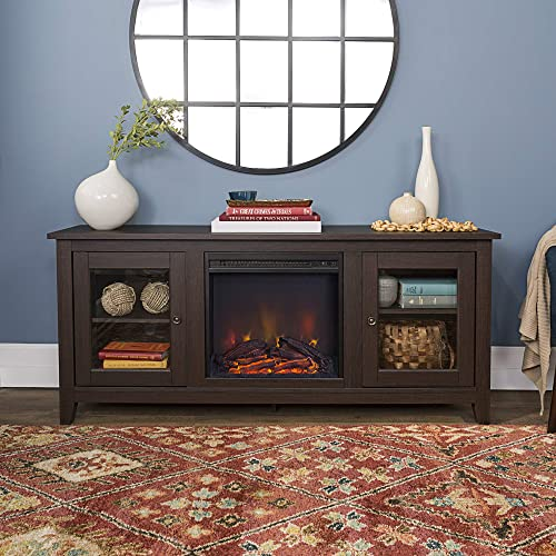Home Accent Furnishings Lucas 58 inch Fireplace Tv Stand