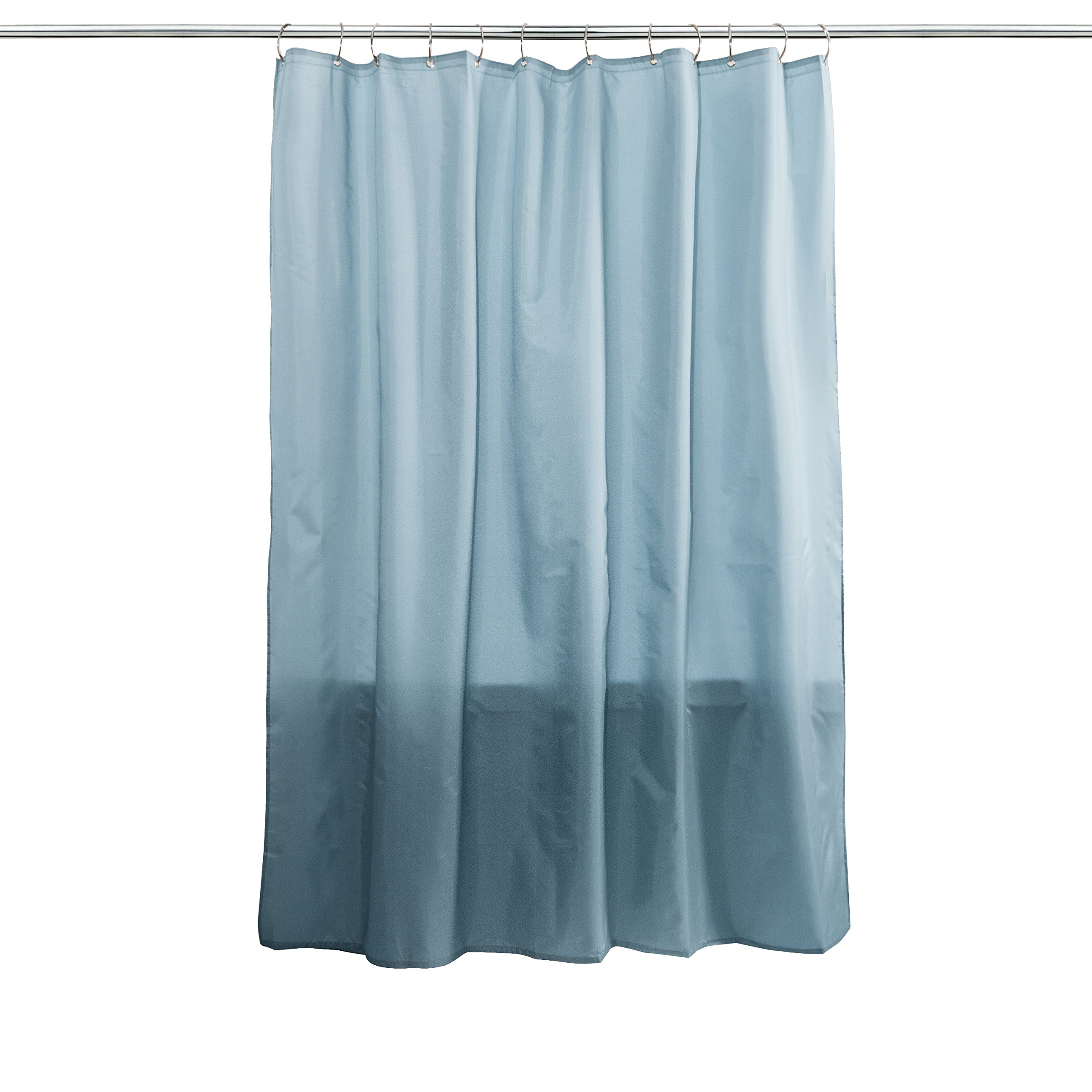 Splash Home Fabric Shower Curtain Liner - Powder Blue