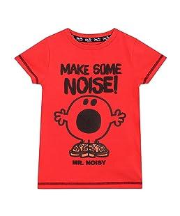 Mr Men Boys Mr Noisy T-Shirt Age 6 to 7 Years