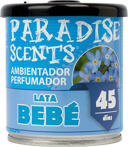 comprar Paradise PER80133 Perfumador Lata Bebe, Color  Azul, 100 gr