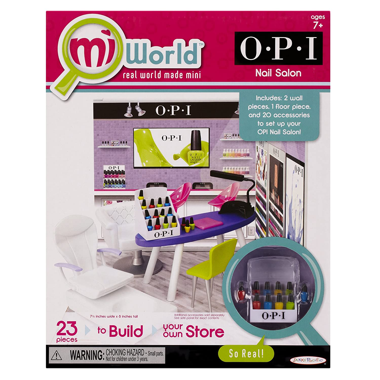 Amazon miWorld Nail Salon Starter Set Toys & Games