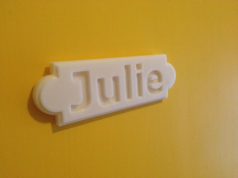 Personalizados nombre señal para puerta con texto en inglés nombre ...
