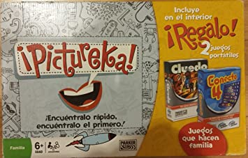 Hasbro Pack Pictureka + Juegos Viaje: Amazon.es: Juguetes y juegos