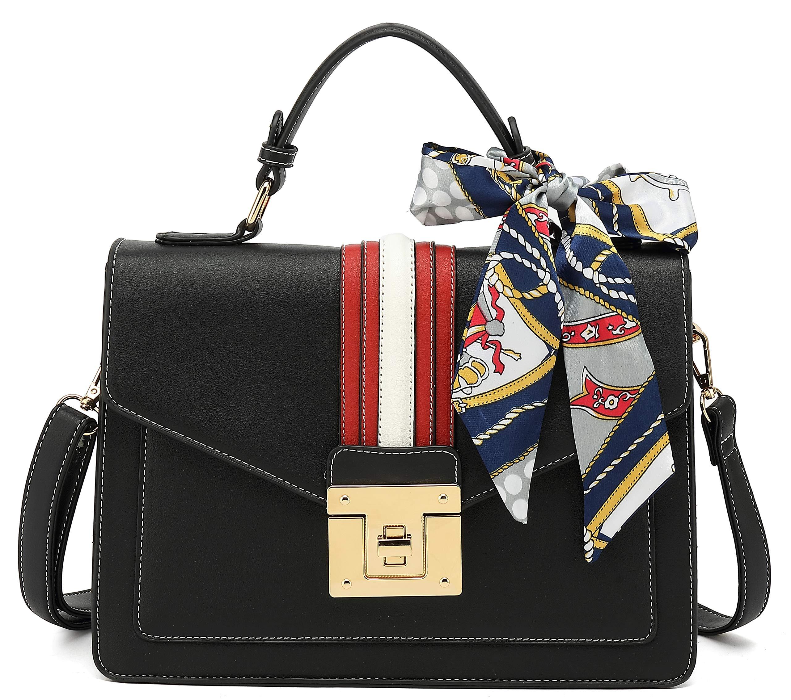 Scarleton Large Top Handle Satchel Handbag for Women H2065