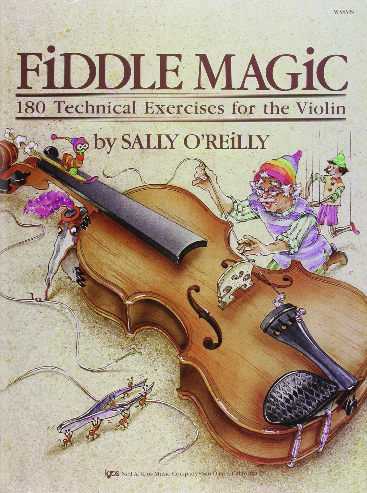 Read Online WS8VN - Fiddle Magic - 180 Technical Exercises for the Violin ebook