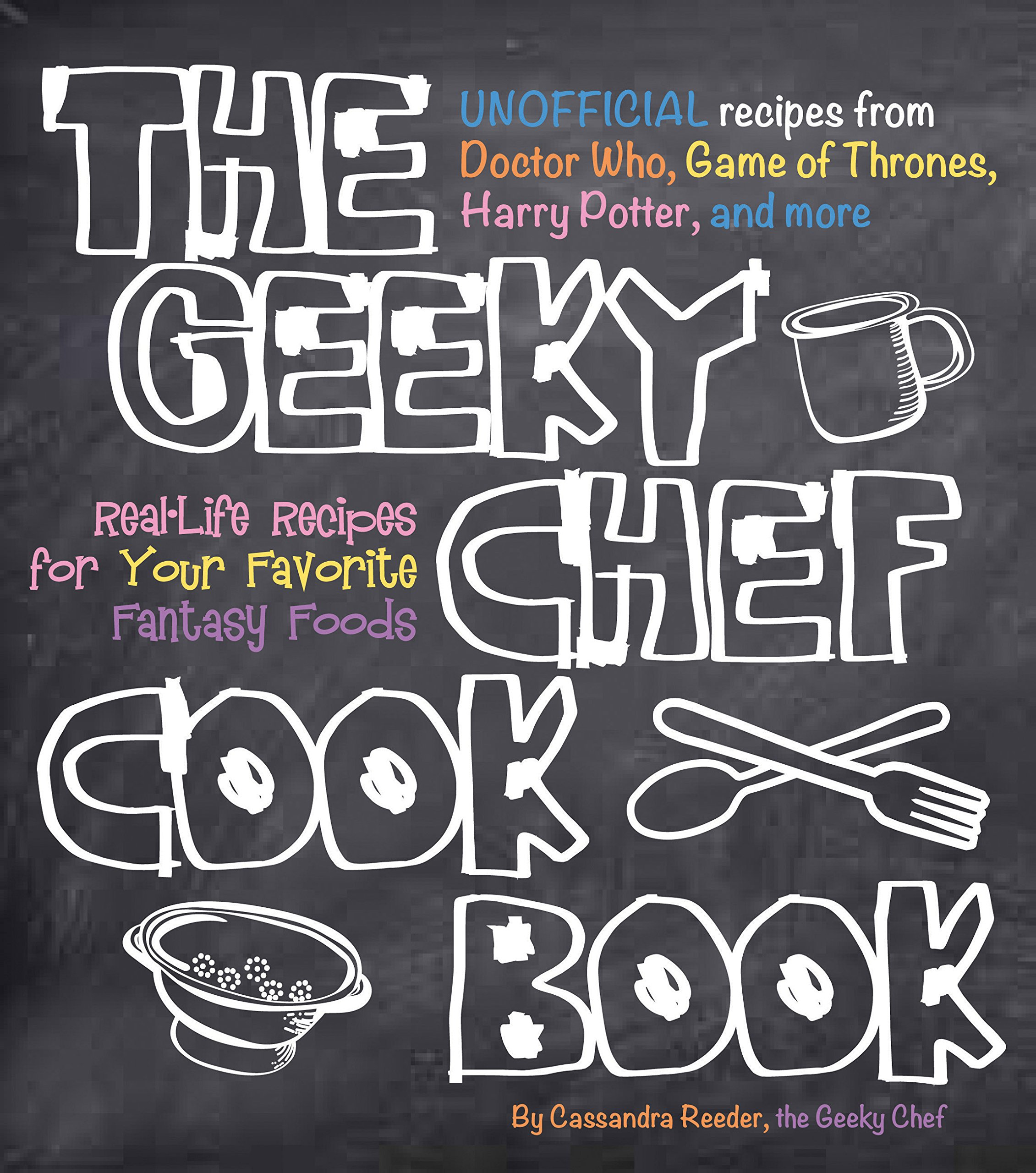 Geeky Chef Cookbook Real Life Unofficial product image