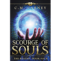Scourge of Souls: The Realms Book 4: (An Epic LitRPG Progression Portal Fantasy) (English Edition)