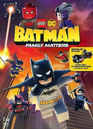 Amazon.com: LEGO DC: Batman: Family Matters (Blu-ray): Troy ...