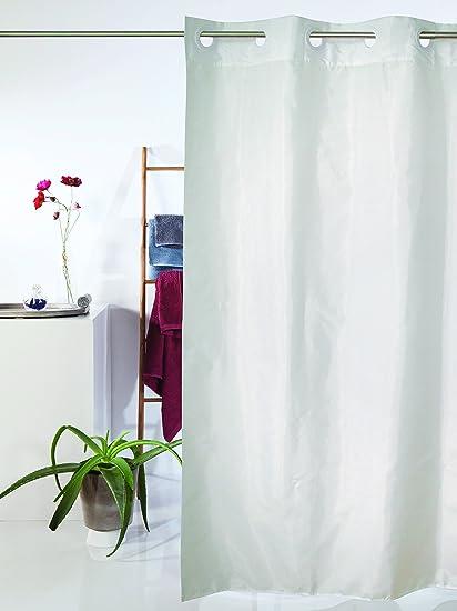 Tenda Doccia WHITE 180x180 cm Nuovo Design Senza Anelli: Amazon.it ...