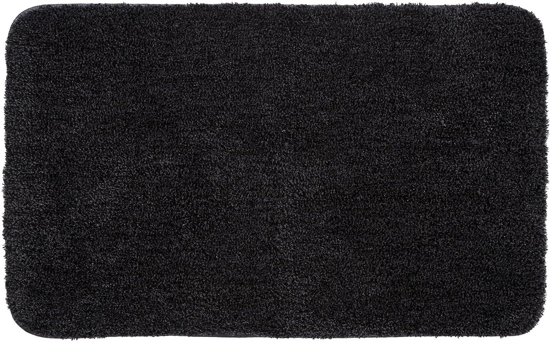 Grund Badteppich 32 mm 100% Polyacryl, ultra soft, rutschfest, ÖKO-TEX-zertifiziert, 5 Jahre Garantie, LEX, Badematte 70x120 cm, anthrazit