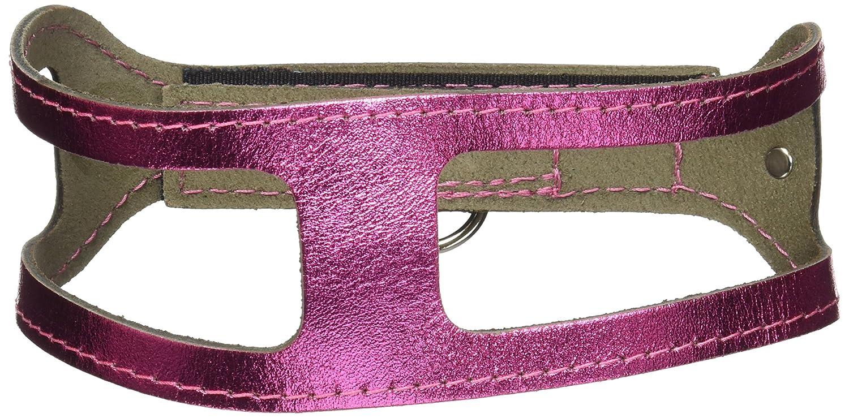 ChokeFree Pet Shoulder Collar, 15-Inch, Metallic Pink