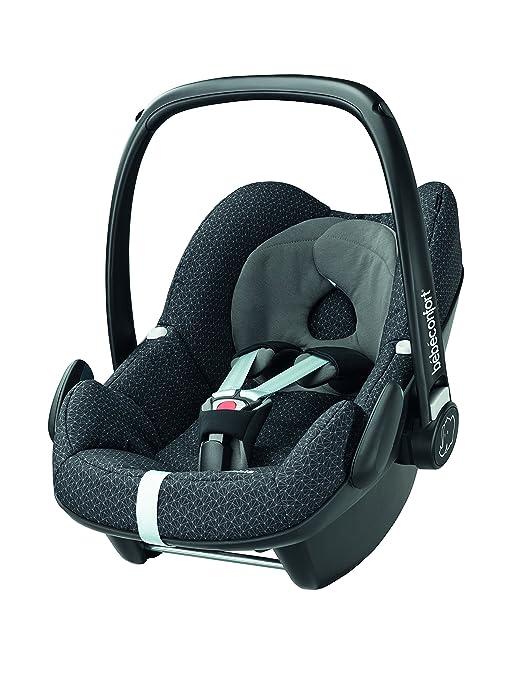 Bébé Confort Pebble - Silla de coche, grupo 0+, color negro