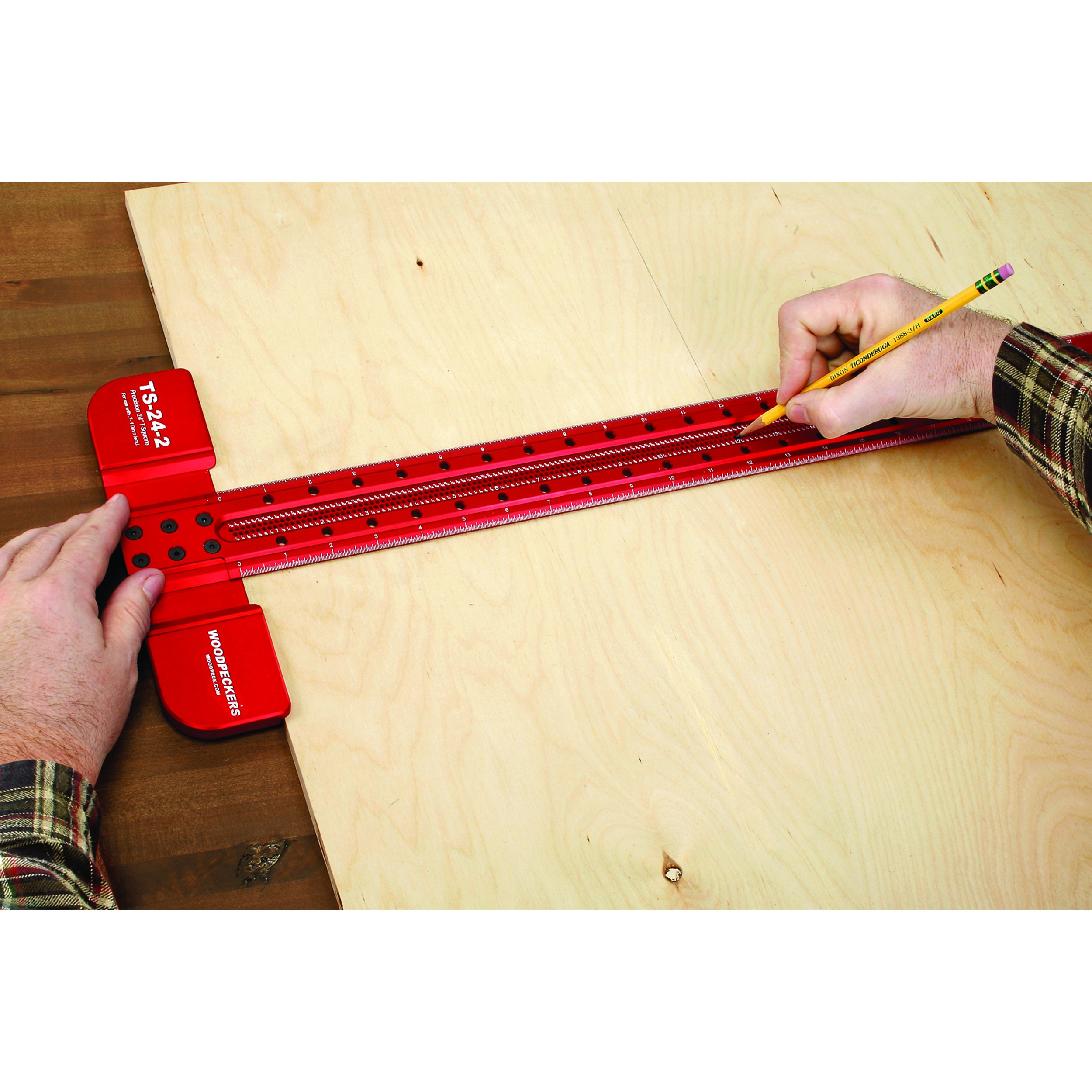 Woodpeckers Precision Woodworking Tools TS-24-2 T-Square, 24-Inch by Woodpeckers Precision Woodworking Tools (Image #3)