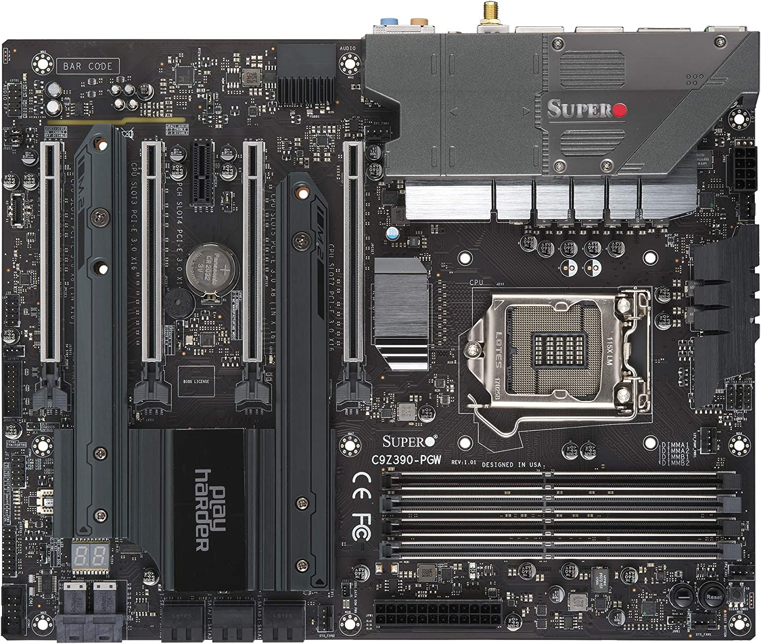 Supermicro MBD Motherboards For i9 9900k