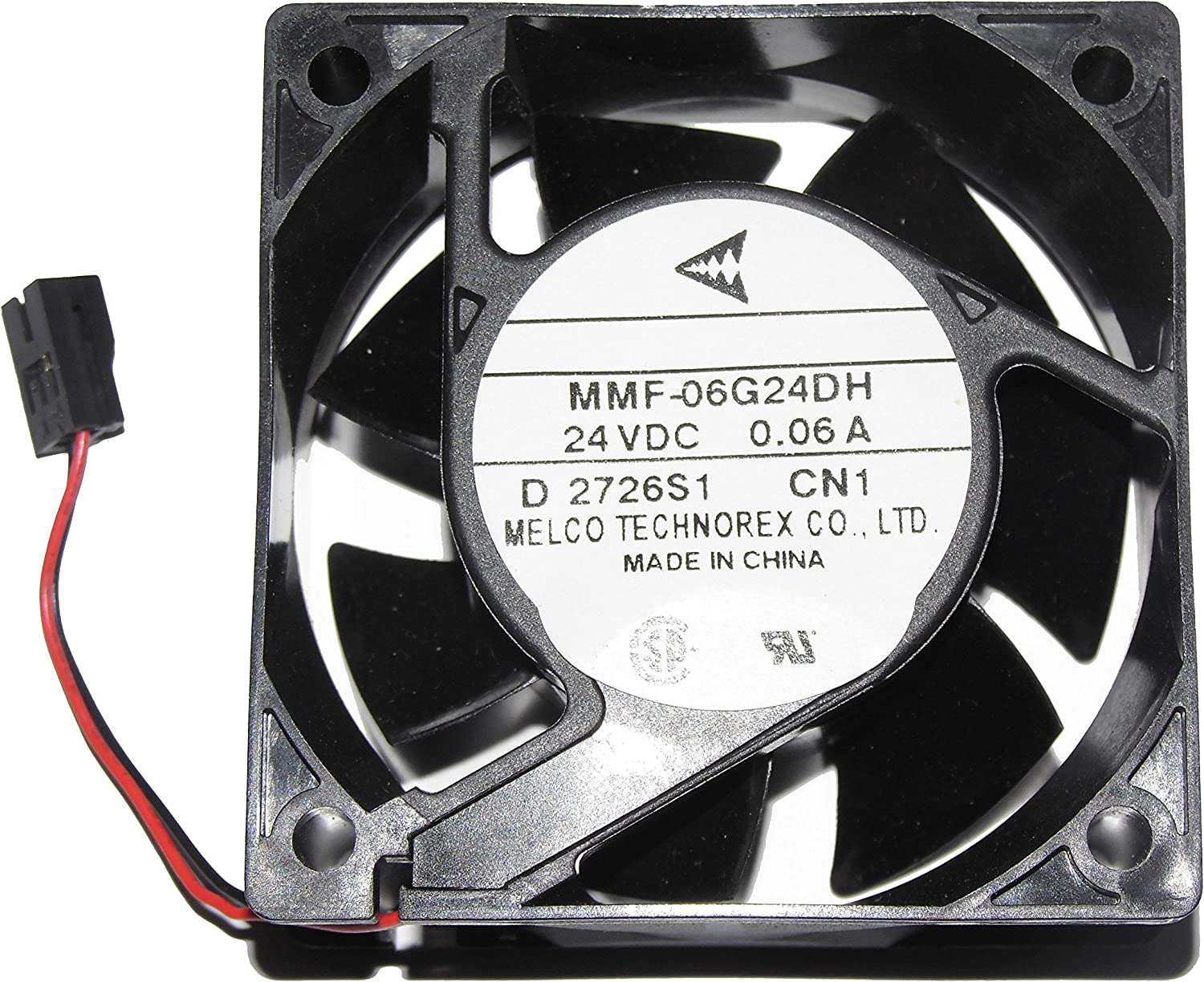 MITSUBISHI 6025mm MMF-06G24DH CN1 24V 0.06A 2Wire Cooling Fan
