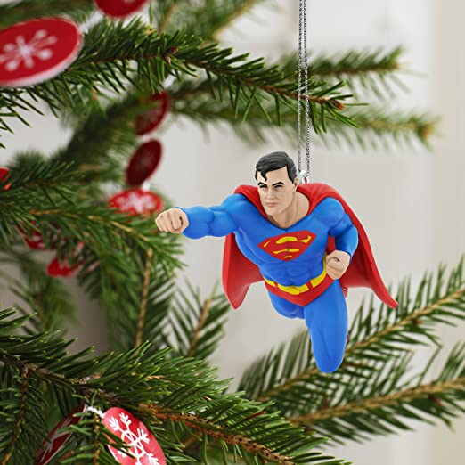 Amazon.com: Hallmark Keepsake 2017 JUSTICE LEAGUE SUPERMAN Mini ...