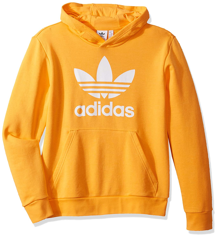 6f073061cbed3 Amazon.com: adidas Originals Little Kids Trefoil Hooded Sweatshirt ...