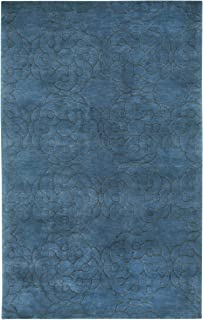 product image for Capel Rugs COCOCOZY Coil Rectangle Hand Knotted Area Rug, 8 x 11', Navy
