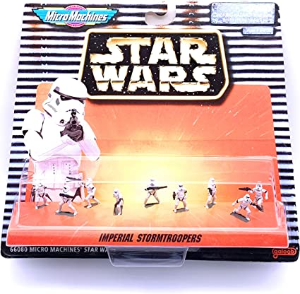 Star Wars Micro Machines Imperial Stormtrooper Lot of 4 Trooper Figure Army 1996