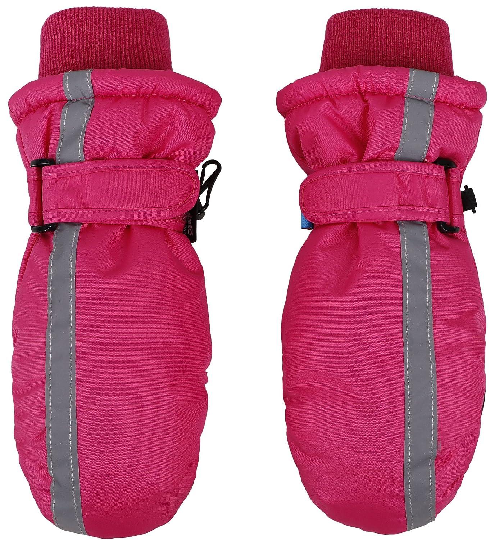 SimpliKids 子供用スノースポーツ シンサレート裏地 防水 冬用ミトン B01N7PSAED Toddler(1-2Y) Fuchsia 2 Fuchsia 2 Toddler(1-2Y)