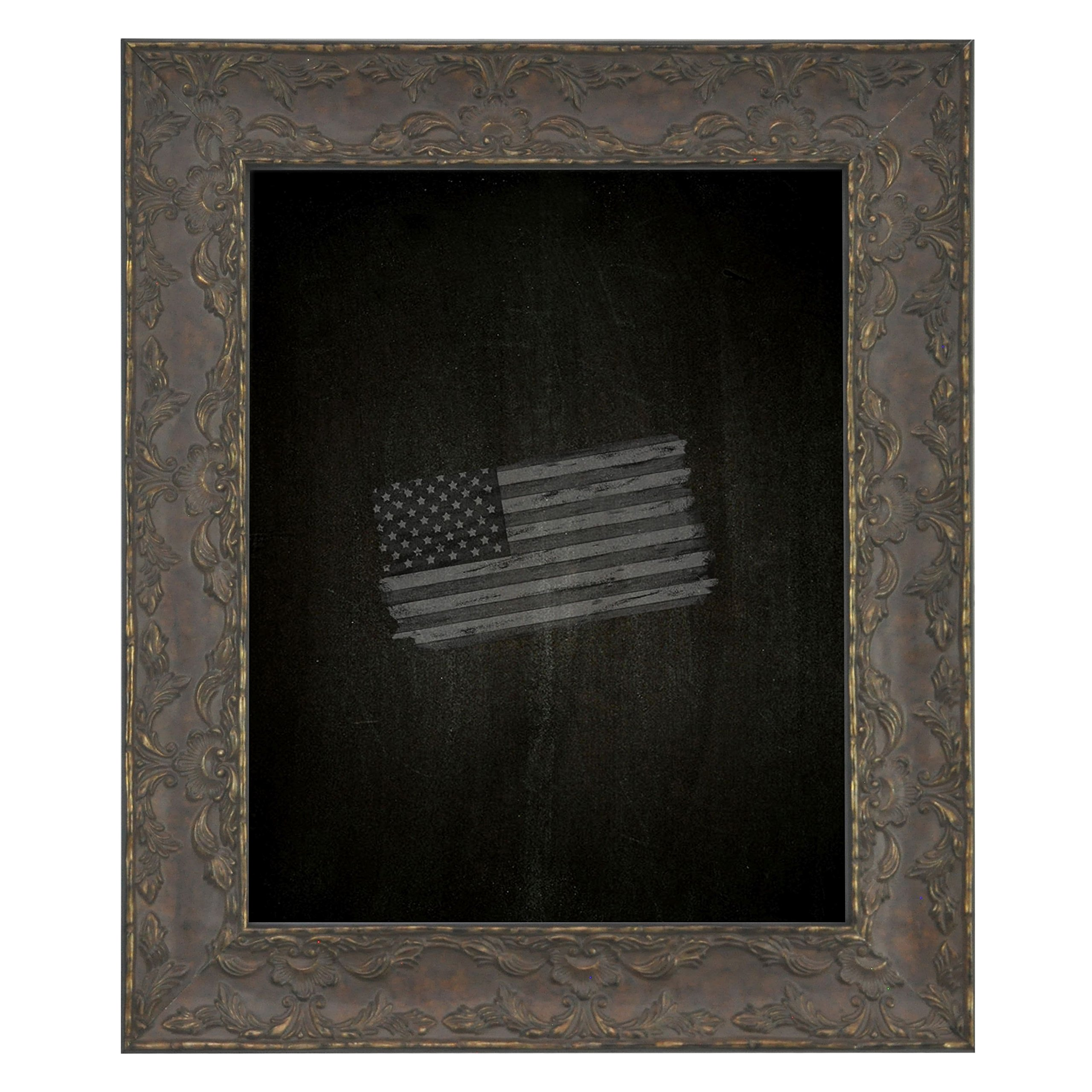 Rayne Mirrors American Made Rayne Maclaren Brown Blackboard/ Chalkboard Exterior Size: 18 x 42 by Rayne Mirrors