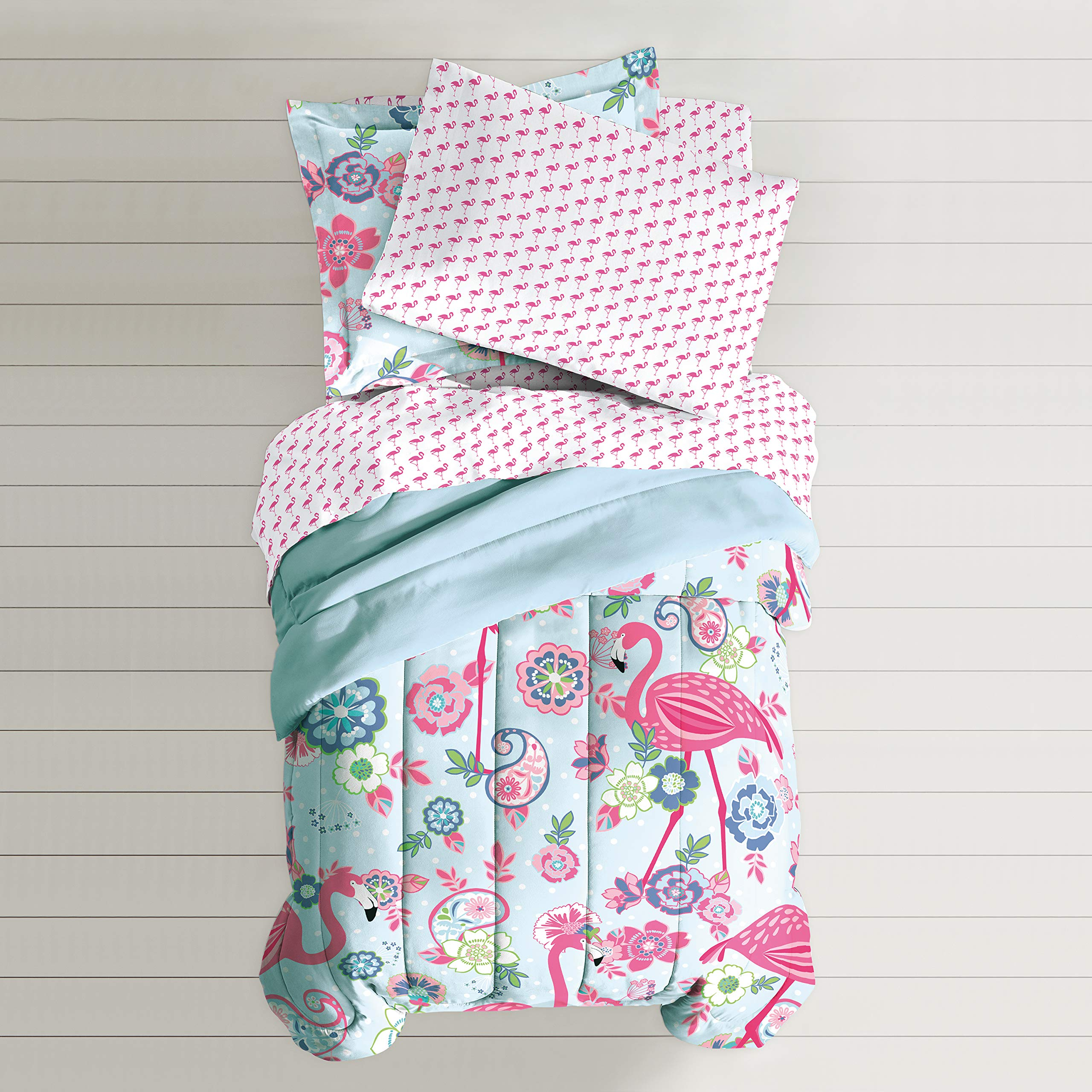 Dream Factory Flamingo Comforter Set, Pink, Twin by Dream Factory (Image #6)