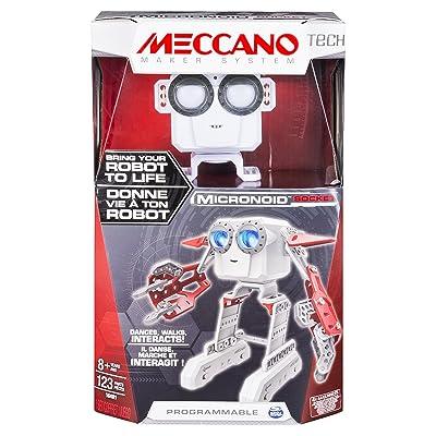 MECCANO 6031222 - Jeu de Construction - Micronoid Rouge/Blanc